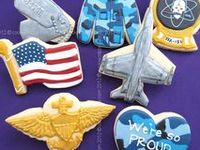 Military Cookies, Cakes, Ideas