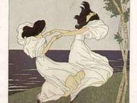 Art Nouveau -  paintings, drawings & more