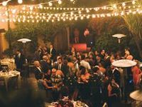 Outdoor wedding party ideas