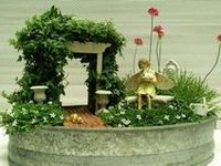 Miniature Fairy Gardens & other tiny gardens!