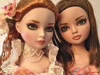 Yes, not all of these lovely dolls and clothes are strictly of and for Ellowyne, but they are included just the same for their beauty.