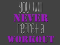 Fun workouts, different moves, and motivational stuff.