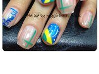 A- manicure nail art