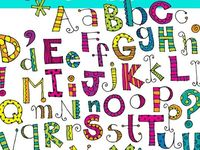 Alphabet/alfabet