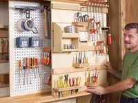 DIY: Workshop Storage/ Tools & Wood