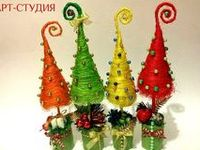 елочки Pinterest'te Natal, Noel Agaclar? ve Tablolar