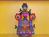 dia de los muertos/ mexican artwork