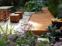 A collection of Garden designs and ideas
