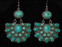 Turquoise and silver