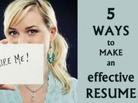 Job Search ideas and tools. Resume writing tips, cover letters, interviewing tips.