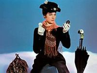 Mary Poppins -  While the moon drifts in the skies Stay awake, don't close your eyes... Que vos yeux demeurent ouverts, quand la Lune monte là-bas, que vos têtes soient légères. Cette nuit ne dormez pas...Tout s'endort et vient le calme mais n'allez pas vers le rêve, ce joli pays qu'on aime… Regardez plutôt la Nuit où l'Etoile pose un diadème