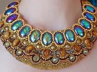 Bead Embroidery (Necklace/Collar/Bib)
