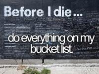 Bucket List ✔