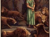 DANIEL IN THE LIONS DEN !!!
