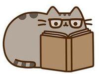 Books, cats an tea