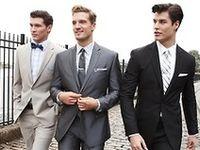 groom's style. groomsmen. boutonnieres.