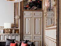 MODERN CHIC - chateau, elegant, glam, neo-classic, holywood