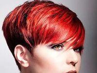 03染髮設計-Red hairstyles