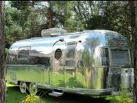 Airstream and Vintage Campers inside and out