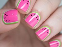 Inspiration for future nail designs.