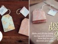 Small gifts to give at a tea party