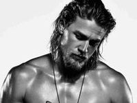 These two incredibly hot stars MUST have been separated at birth!  Loving Sons of Anarchy and Vikings.