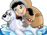 Thema zuidpool kleuters lessen en knutsels, pinguins, ijsberen, eskimo's, iglo's / Theme Polar region preschool lessons and crafts /  / Le pôle nord maternelle, bricolage, les igloos, inuit, esquimales.