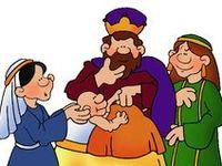 Bijbel: Salomo voor kleuters, knutselwerkjes, verwerking, kleurplaten,lessen / Bible: Solomon for preschool