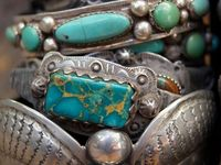 Creative and beautiful Native American Old Pawn jewelry (pawn jewelry) is made by Native American silversmiths - Zuni, Navajo and Hopi - for Native Americans to own and wear.