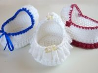 A collection of crochet, knit and sewing patterns that are designed for angel babies (deceased) and premature babies. All patterns here are free for you to use to make things for charities and organisations.