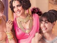 Beautiful #sarees, #suits, #lehengas, #anarkalis and exquisite indian jewellery