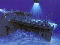 Ships, airplanes, and all other types of things that have been discovered on the oceans floor.