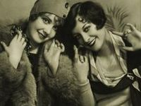 Historical antique clothing from the 1920's