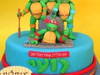 ninja turtle cakes and more for boys