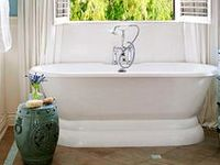 Find inspiration for your own bathroom by browsing though our favorites! http://www.bhg.com/bathroom/