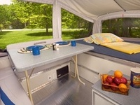 Pop Up and tent trailer camper modifications and ideas