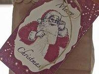 christmas bags and tags