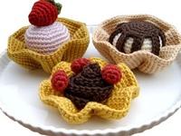 Doll, Amigurumi, DIY Craft food toys