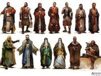 NPC character concept art for D&D campaign