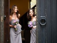Sophisticated and pretty, gray bridesmaid dresses bring a sense of elegance to your wedding day. Whether your bridesmaids like long or short dresses, gray will add a special touch.