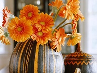 Fall is my favorite season, and these foods and ideas celebrate it. I love the leaves, the colors, and the smells and tastes. There is nothing as pretty as watching the skies get clearer, and the leaves change to fire.  And... I'm crazy about pumpkin too.  Obviously.
