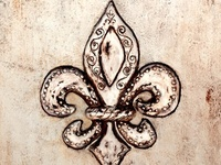 Love all things Fleur de Lis & it's especially meaningful because of New Orleans.It was a symbol of rebirth & rebuild after Katrina....was my home & will go back someday....My house is full of them!!