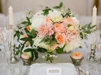 Creative wedding decor for ceremony and reception. Inspiration for brides in the planning process!