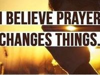 Believing in things not seen, and trusting God.