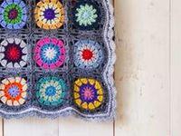 Crochet blankets & cushions