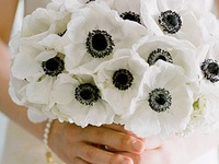 Black and white wedding themes with black and white dresses, styling ideas and decor for weddings and parties.