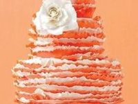Ideas and color inspiration for orange themed weddings and parties.