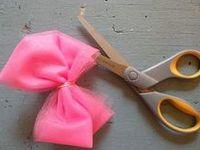 DIY - Laços e Tiaras (Bows and Headbands)