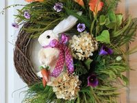 Spring Decorations and Spring holidays: Valentines Day, Mardi Gras, St. Patrick's Day and Easter