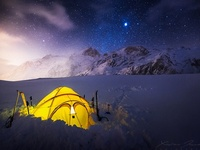 One million stars hotel, Mountain Camp, Bivouac, Milky Way, Chambre avec vue